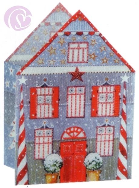 leuchtendes teelicht haus weihnachten sterne geschenke. Black Bedroom Furniture Sets. Home Design Ideas