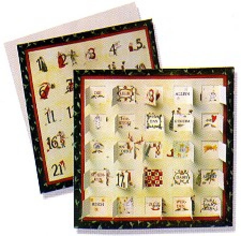 silke leffler adventskalender karte geheimnis. Black Bedroom Furniture Sets. Home Design Ideas