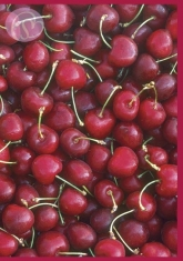 Klappkarte Cherries