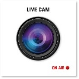 Fliesen-Sticker Live Cam