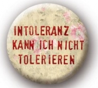 Metall-Button Intoleranz